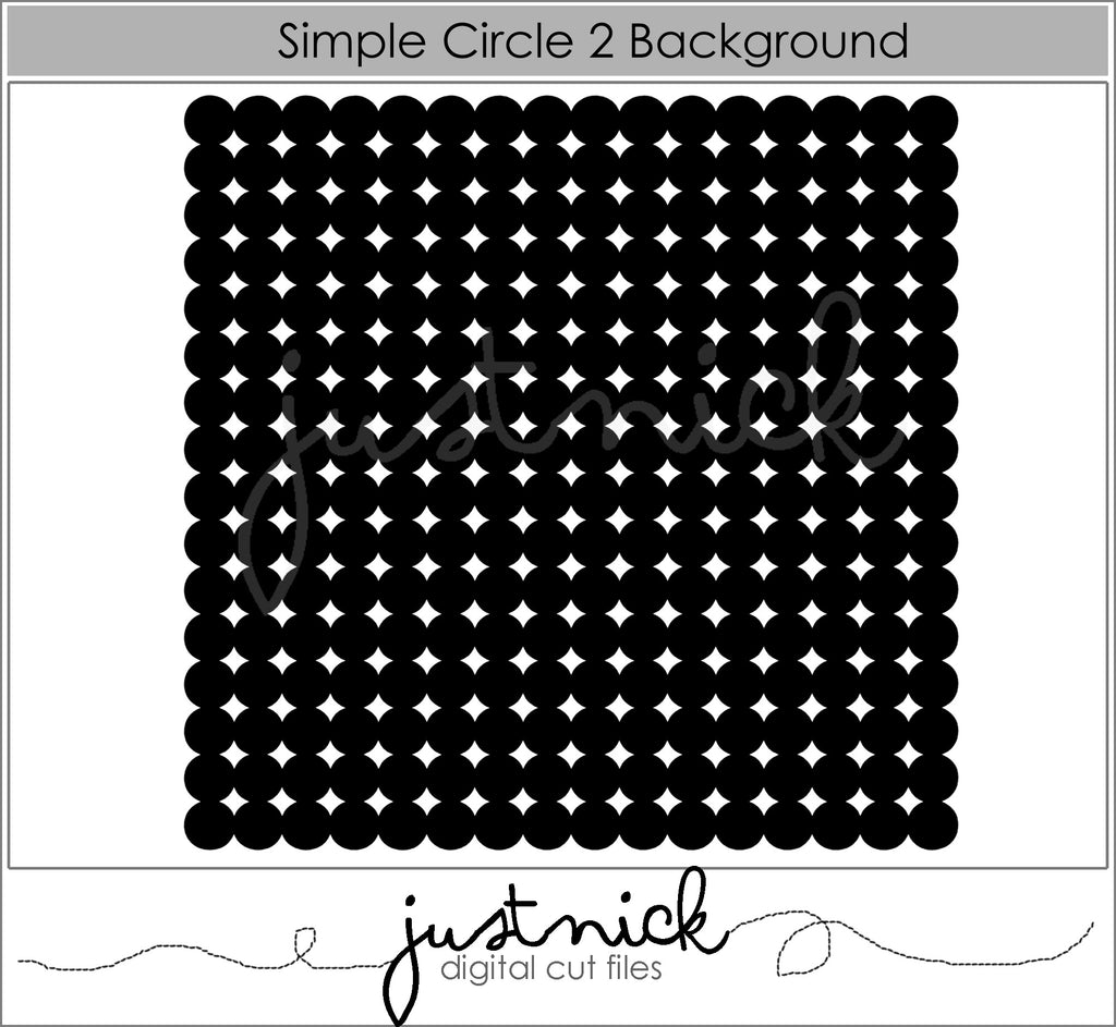 Simple Circle Background 2
