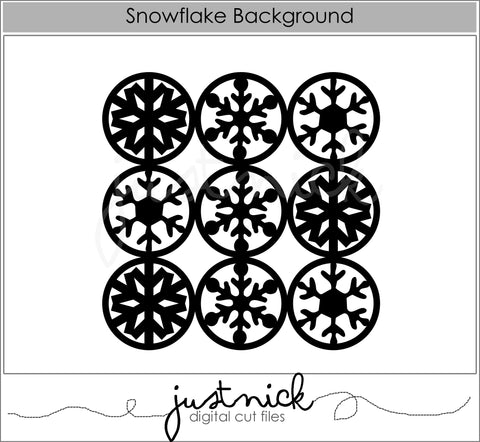 Snowflake Background 2