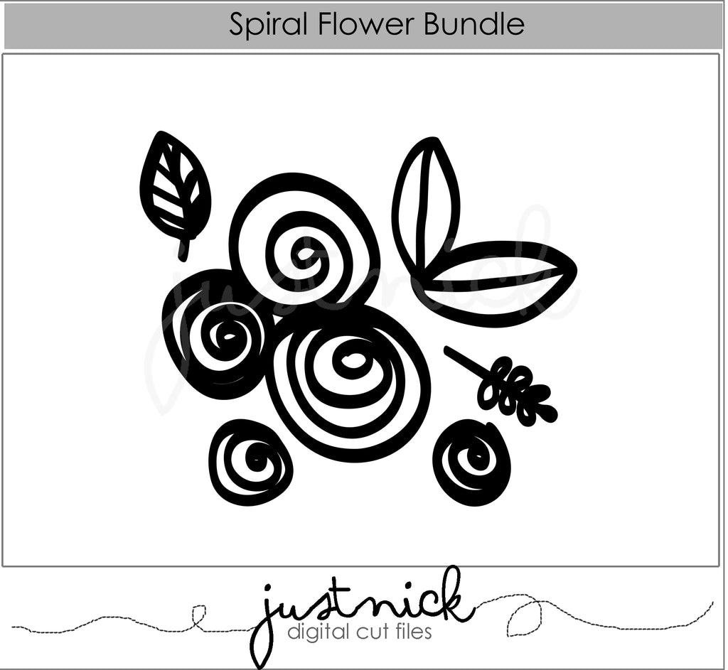Spiral Flower Bundle
