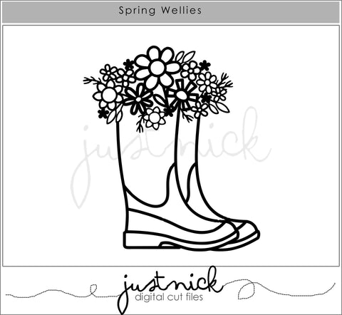 Spring Wellies