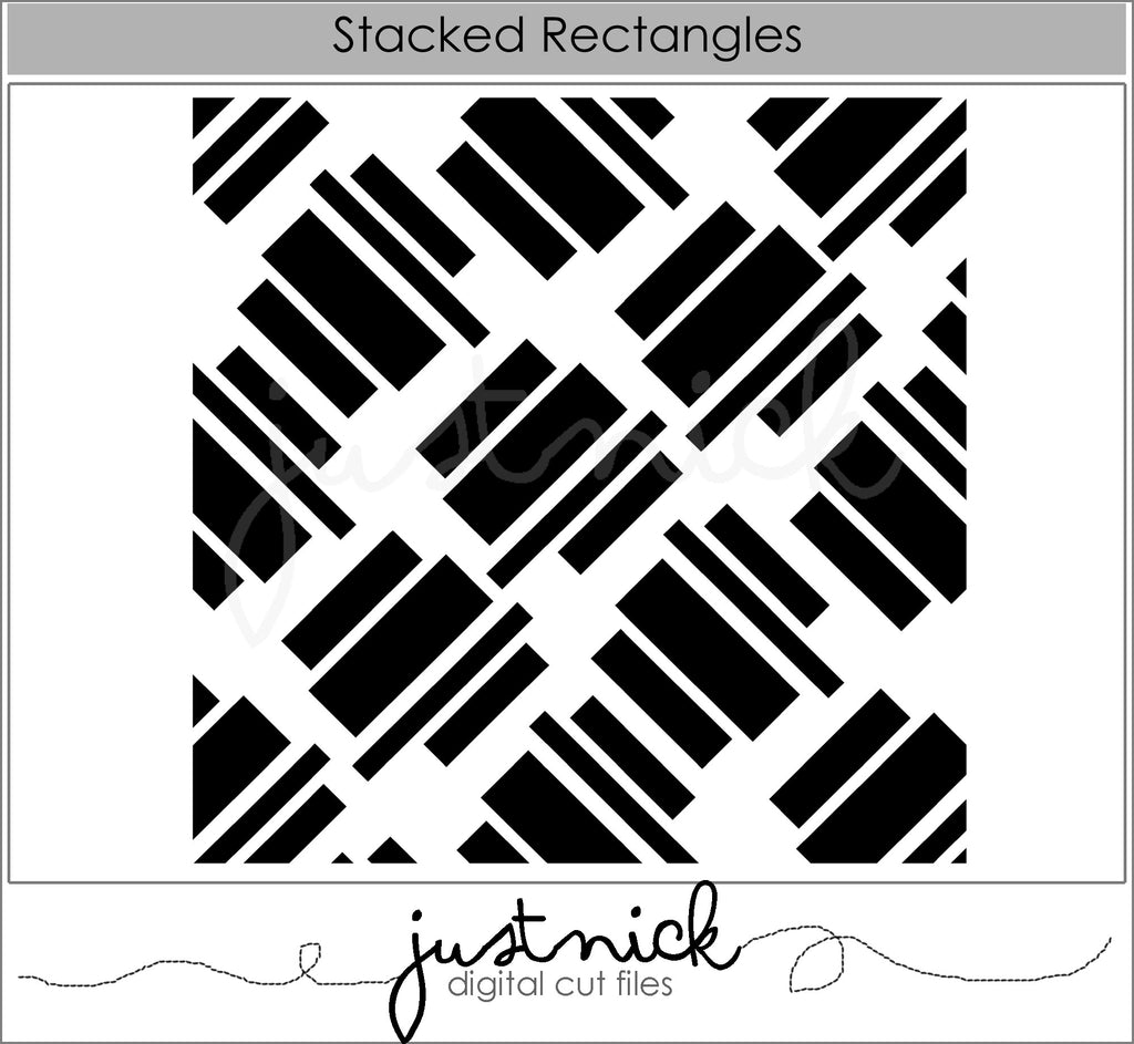 Stacked Rectangles Background