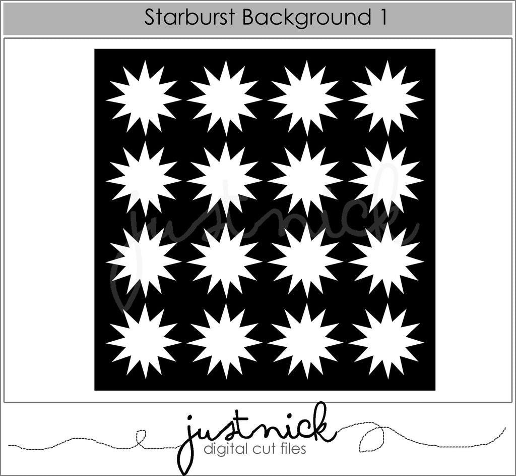 Starburst background 1