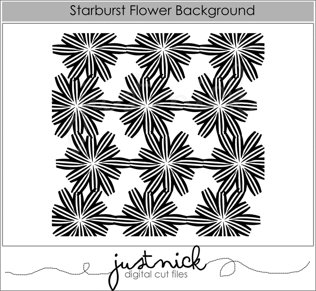 Starburst Flower background