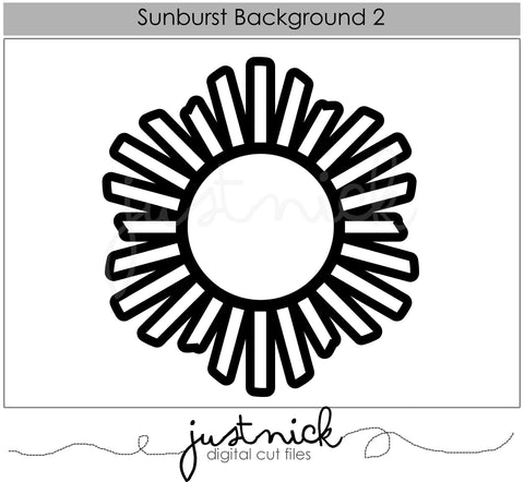 Sunburst Background 2