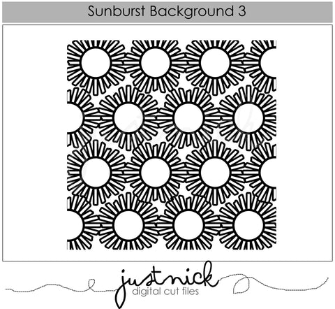 Sunburst Background 3