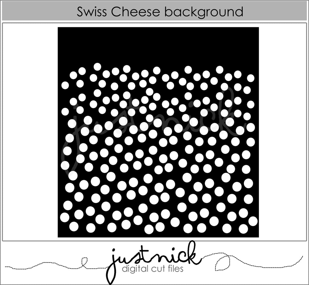 Swiss Cheese Background