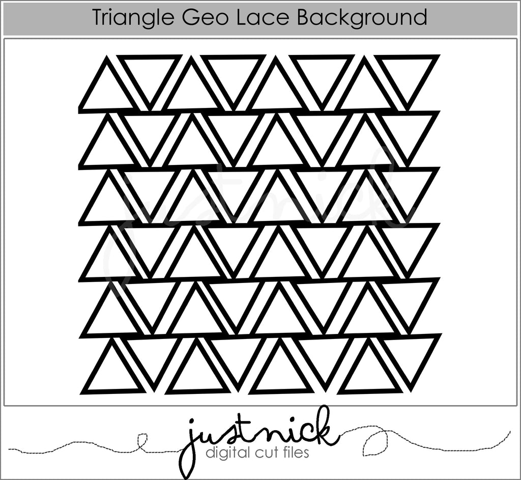 Triangle Geo Background