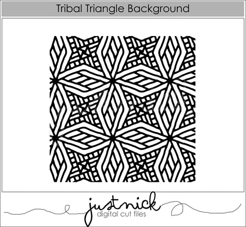 Tribal Triangle Background