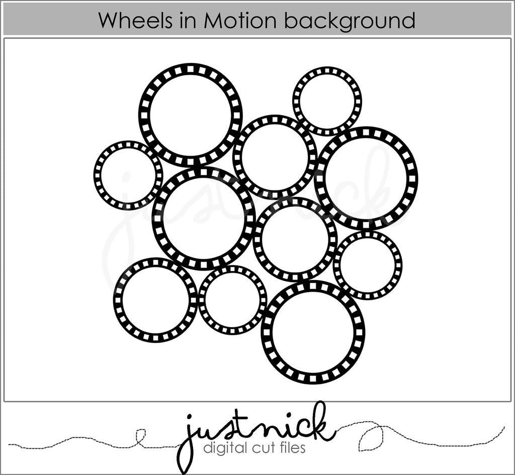Wheels in Motion Background