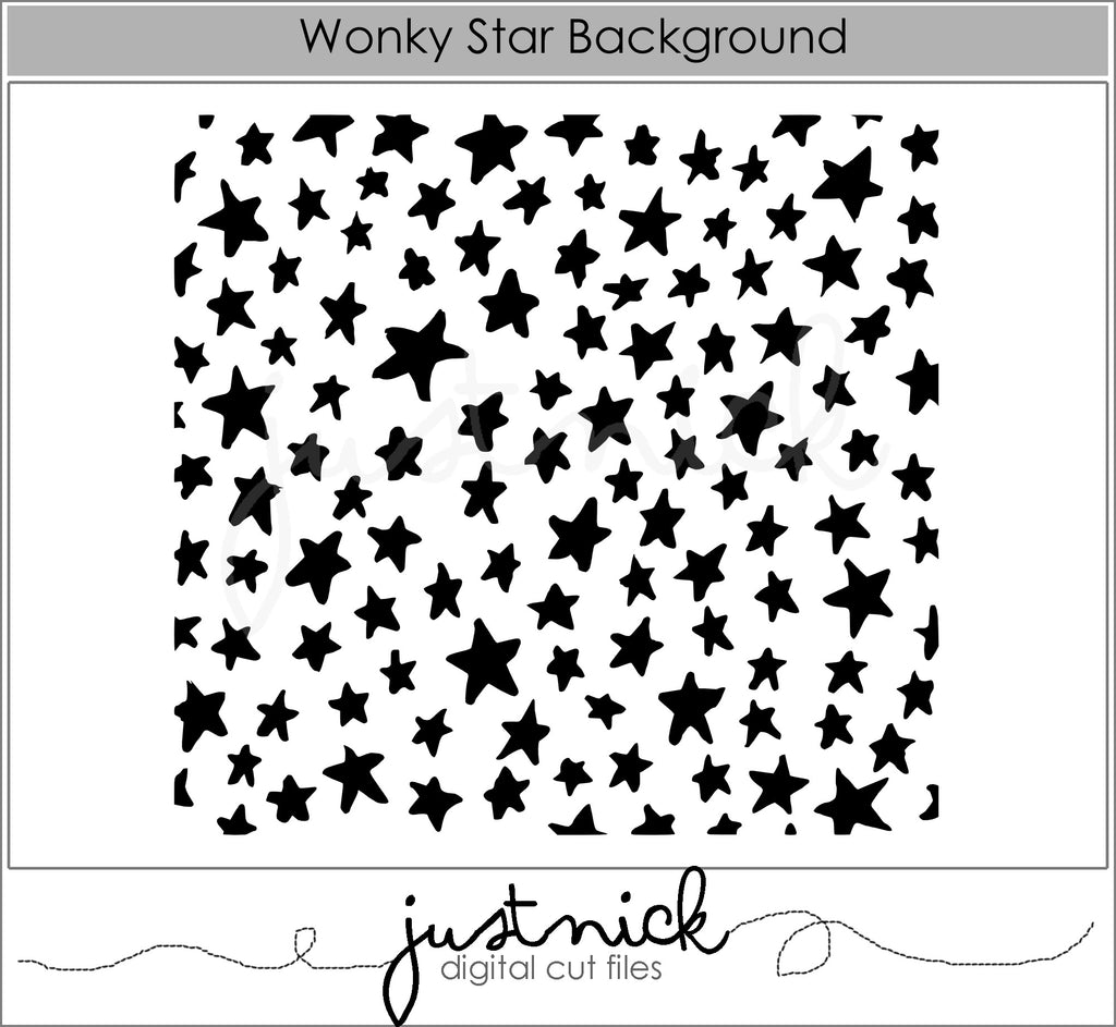 Wonky Star Background