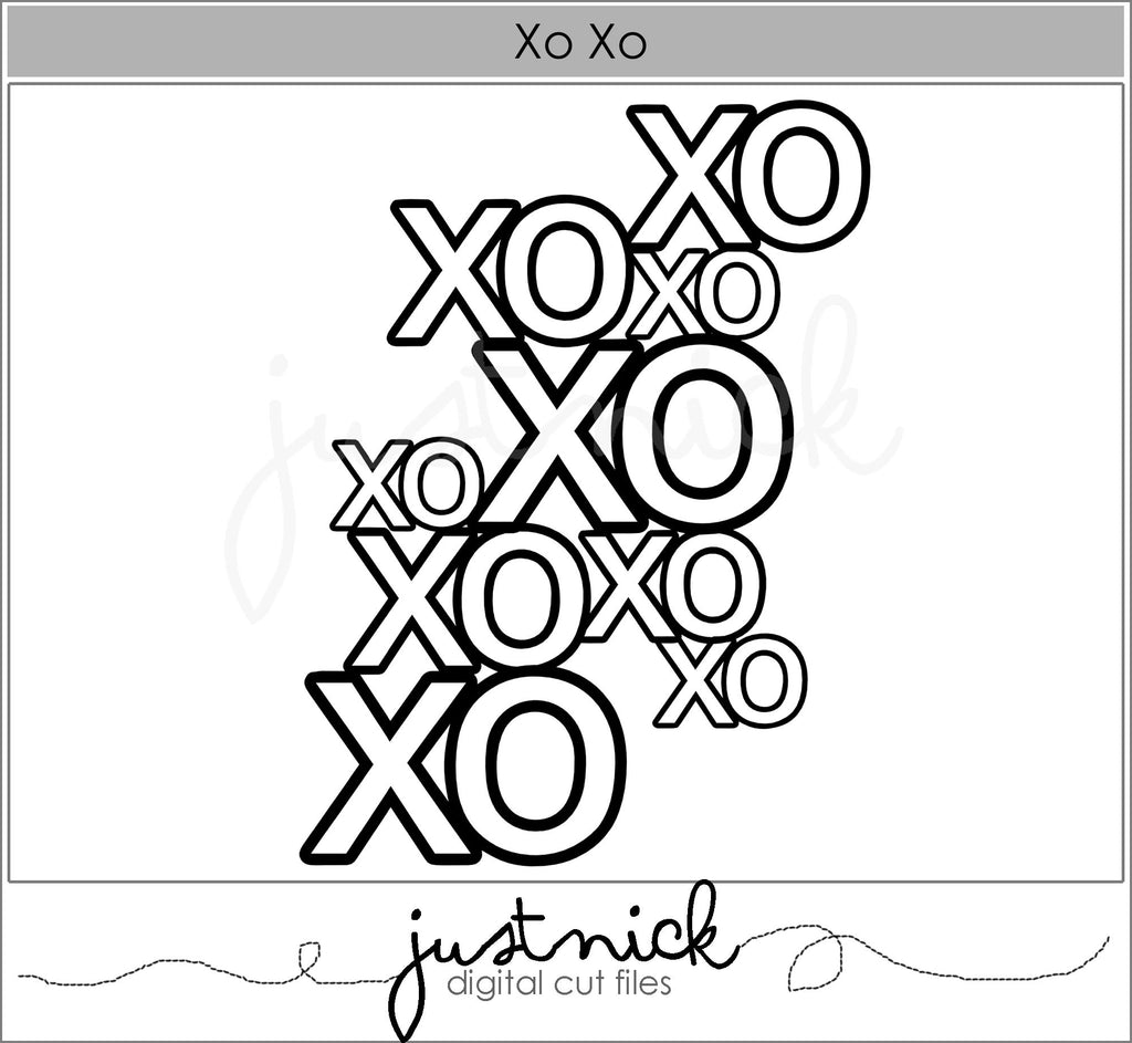 XOXO background