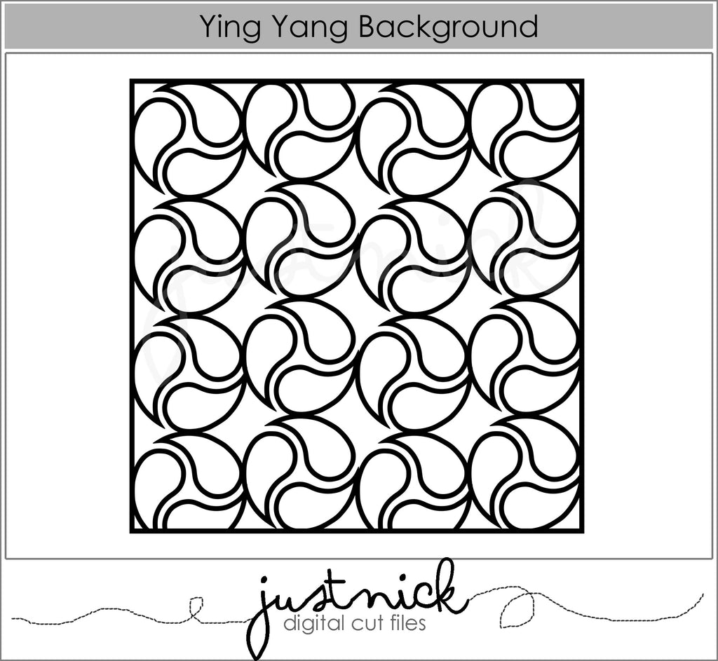 Ying Yang Background