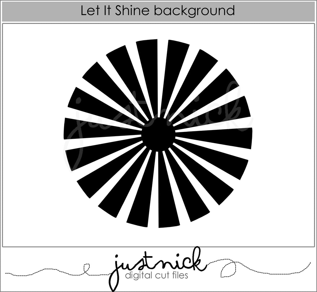 Let It Shine Background