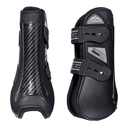 Veredus Carbon Gel Open Front Boot Black Twisted Bit