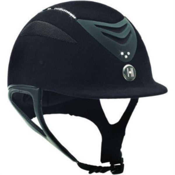 One K™ Defender Suede Helmet with Swarovski Stones Twisted Bit