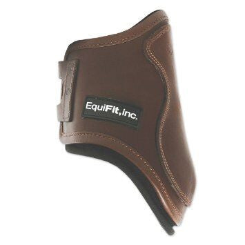 Equifit T-Boot Luxe Hind Boot Brown Twisted Bit