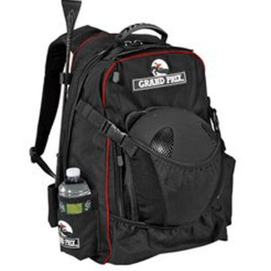 Grand Prix Helmet Backpack Black Twisted Bit