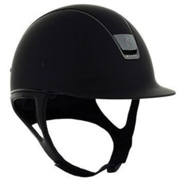 Samshield Shadowmatt Helmet With 5 Swarovski Elements Twisted Bit