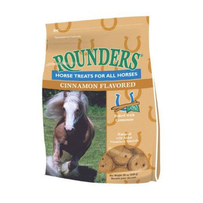 Rounders Horse Treats Cinnamon Twisted Bit