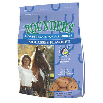 Rounders Horse Treats Molasses Twisted Bit