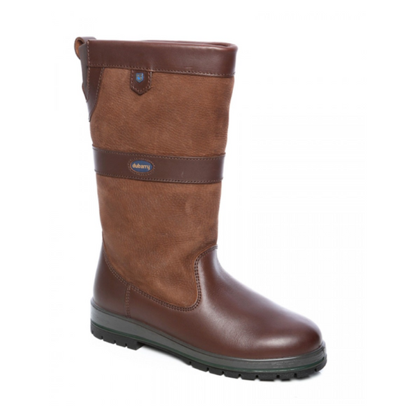 Dubarry Kildare Women's Leather Boot Walnut Twisted Bit