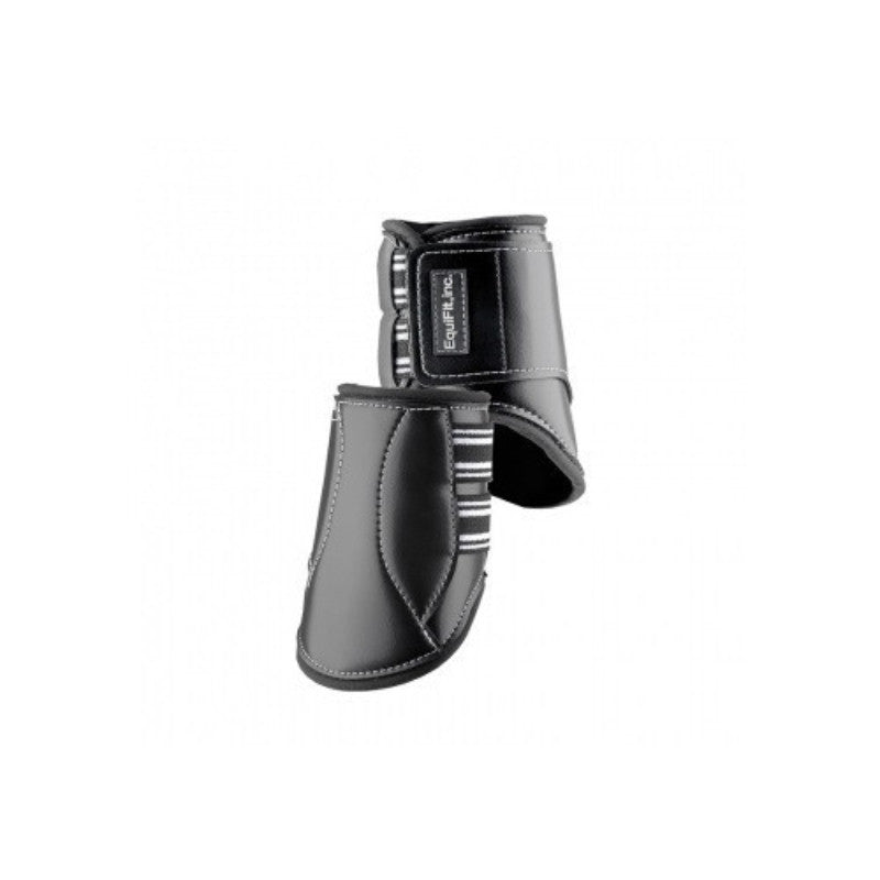 EquiFit MultiTeq Short Hind Boot Black Twisted Bit