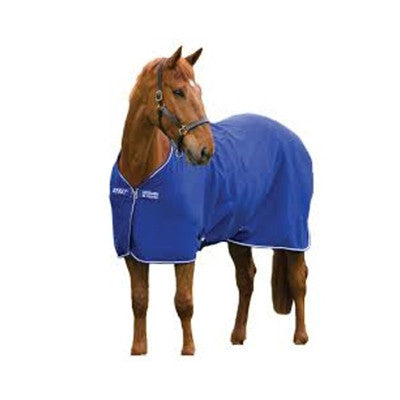 Horseware AMIGO® Foal Adjustable Blanket Navy with Navy and Silver