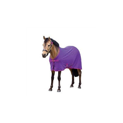 Horseware AMIGO® Foal Adjustable Blanket Berry with Navy and Fuchsia Twisted Bit