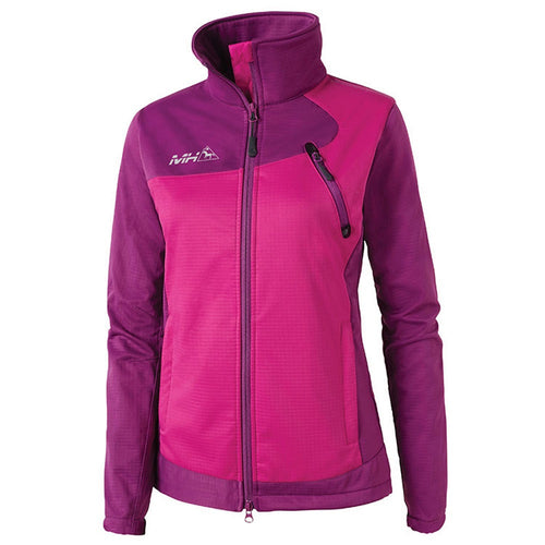 Mountain Horse Cortina Softshell Jacket Wild Purple The Twisted Bit