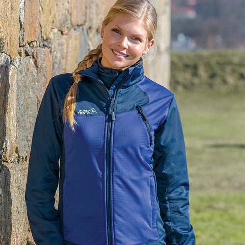 Mountain Horse Cortina Softshell Jacket Midnight The Twisted Bit