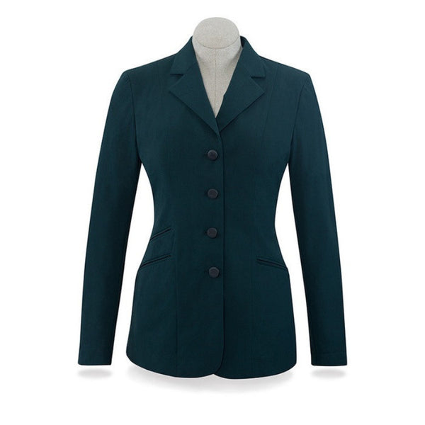 RJ Classics Ladies Washington Green Soft Shell Show Coat The Twisted Bit