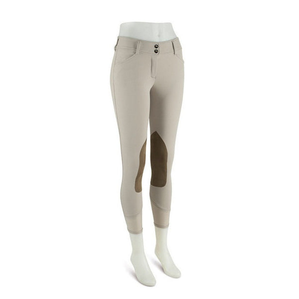 RJ Classics Prestige Collection Gulf Model Low Rise Front Zip Euroseat Breech Sand Twisted Bit