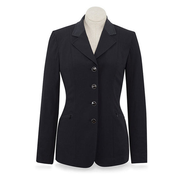 RJ Classics Ladies Black Galway Soft Shell Show Coat The Twisted Bit