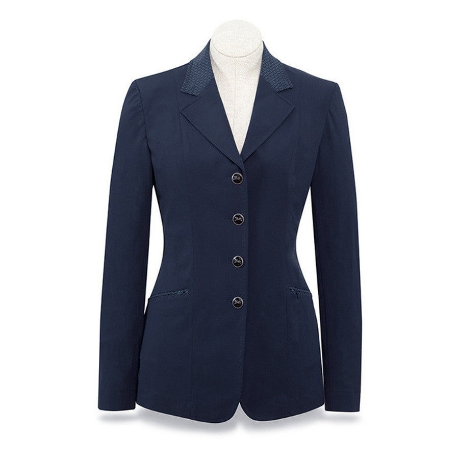RJ Classics Ladies Navy Galway Soft Shell Show Coat The Twisted Bit