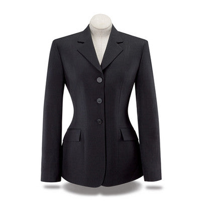 RJ Classics Ladies Navy Devon Show Coat The Twisted Bit