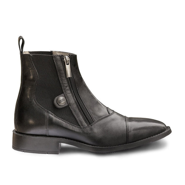 Sarm Hippique Ankle Boots Black Twisted Bit