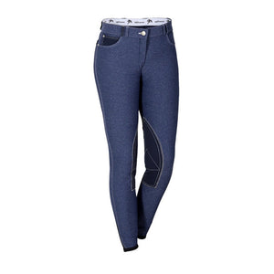 Sarm Hippique MARTA Breech Blue Twisted Bit