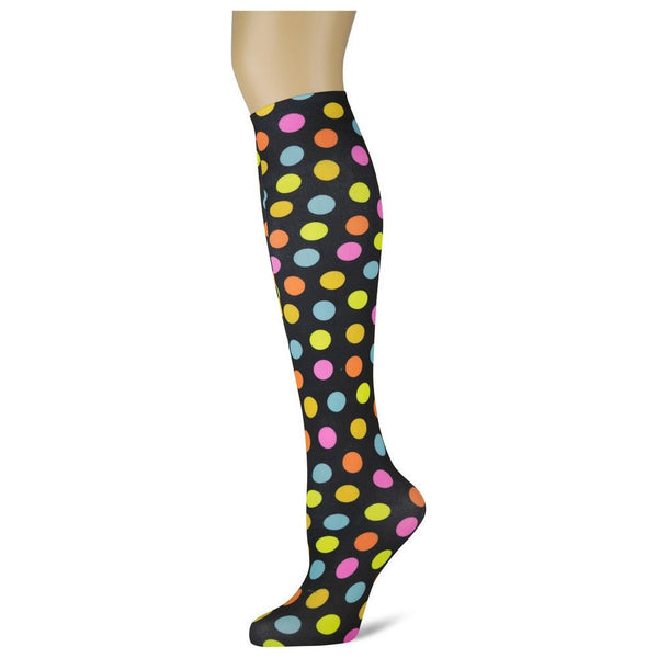 Sox Trot Hot Dots Women's Knee High Socks The Twisted Bit