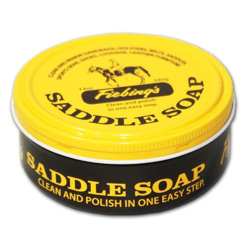 Fiebings Saddle Soap Can Twisted Bit