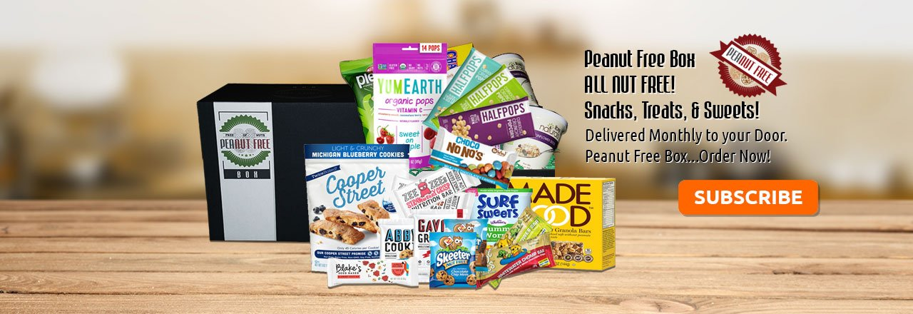 PEANUT & NUT FREE SNACKS, TREATS, AND SWEETS!