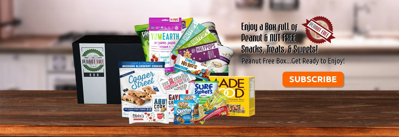 NUT FREE SNACKS DELIVERED MONTHLY