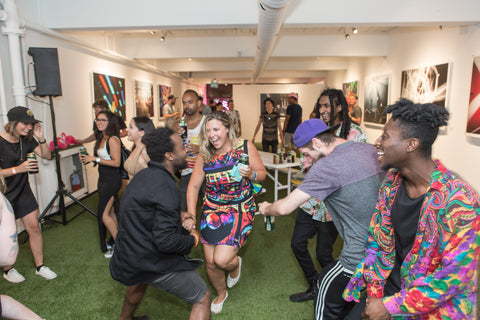 Dance Party at the Nuvango Gallery