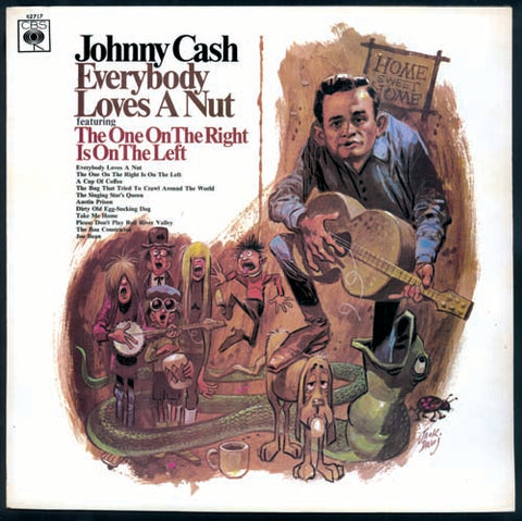 Johnny Cash Phono+Graphic Nuvango Gallery TCAF