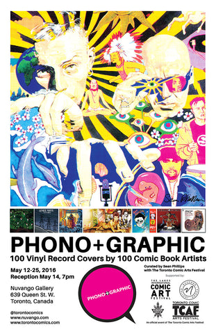 PhonoGRAPHIC TCAF Show at Nuvango Gallery