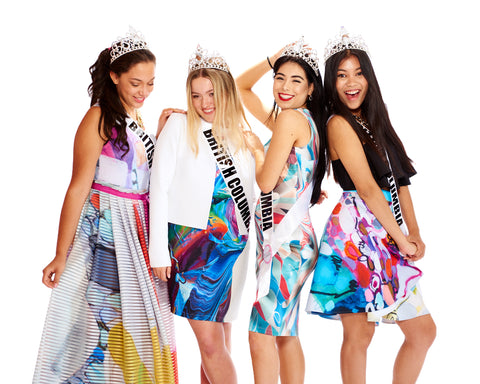 Nuvango SS16 and Miss Teenage Canada