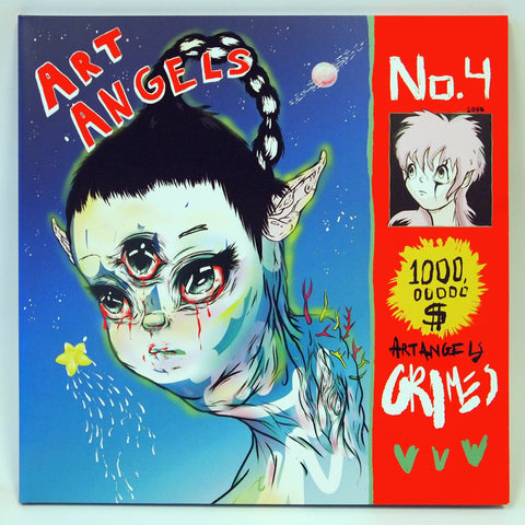 Art Angels by GRIMES for Phono+Graphic at the Nuvango Gallery