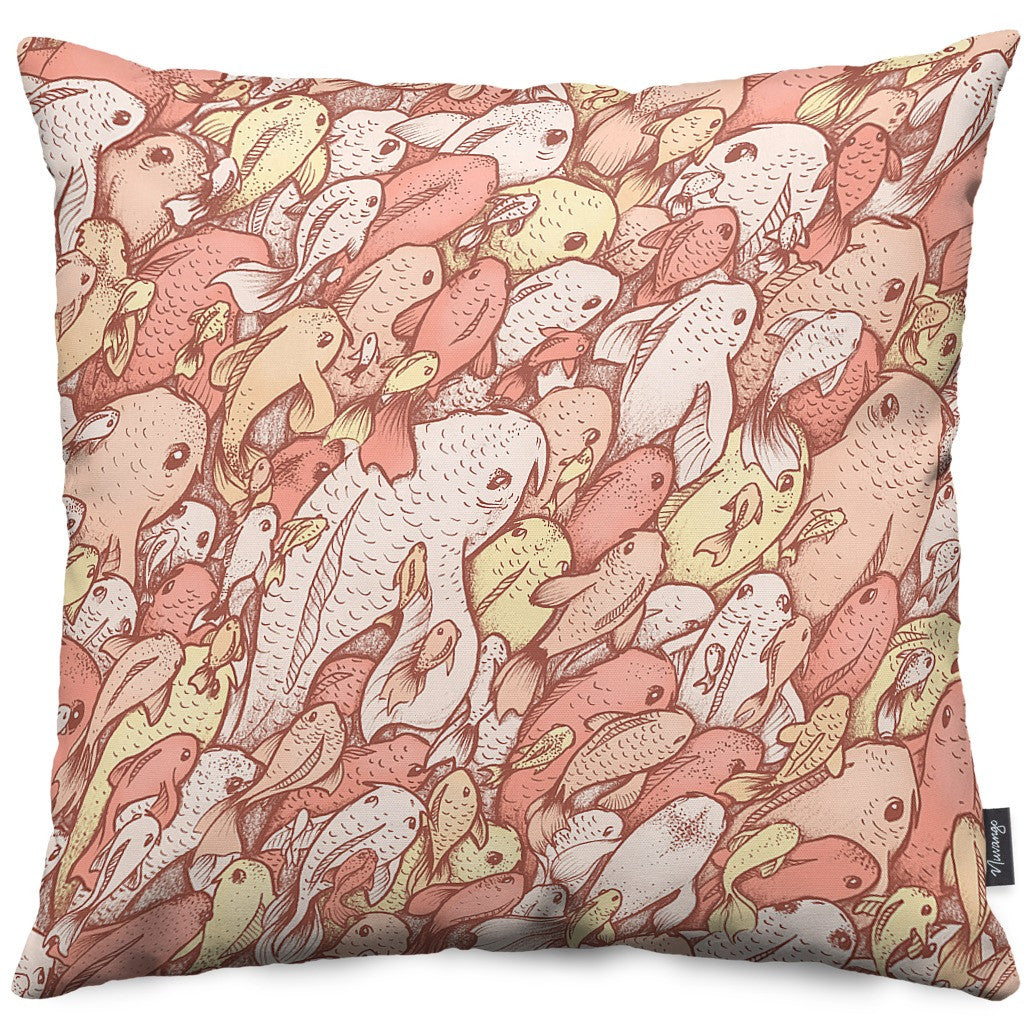 'Fishes' Throw Pillow