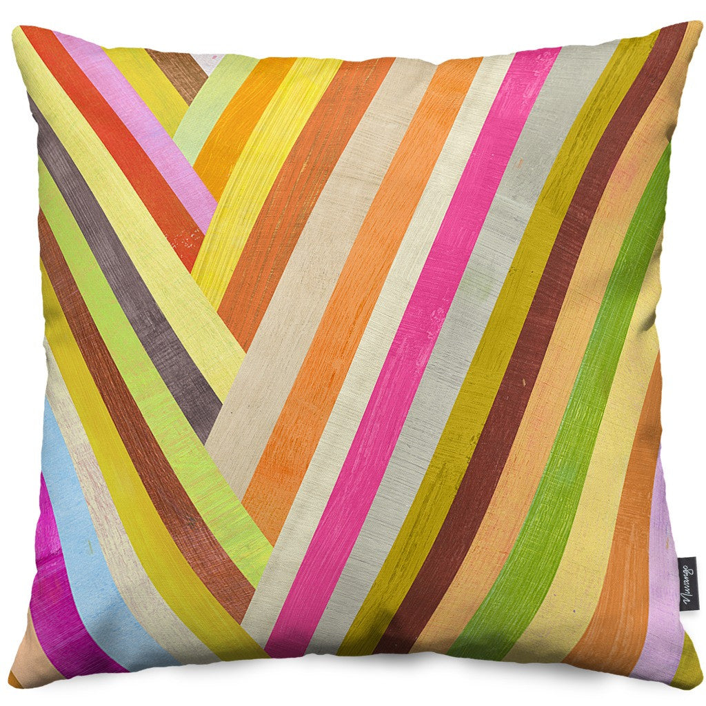 Checkmark Throw Pillow