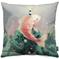 Mooncatcher Throw Pillow
