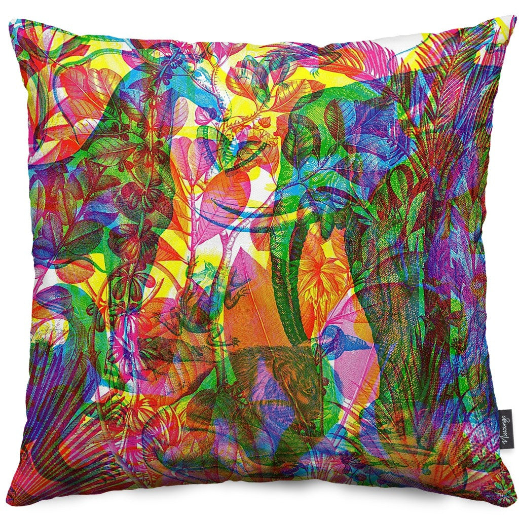 Jungla Throw Pillow